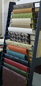 papers from around the world from book binding conference.JPG