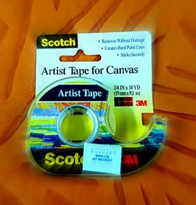 tape scotch artist tape for canvas.JPG