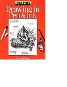 books drawing in pen and ink claudia NICE.JPG