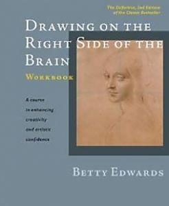 books drawing o the right side of the brain workbook.JPG