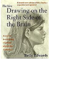 books the new drawing on the right side of brain Edwards.JPG