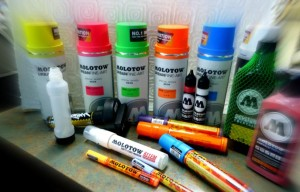 Molotow Spray Paint & Markers